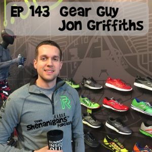 Gear Guy Jon Griffiths from Rochester Running Company